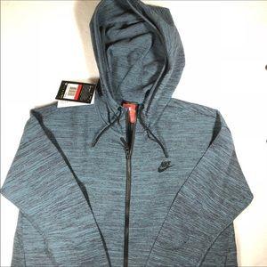 Nike Women's Tech Knit Split Back Zip Up